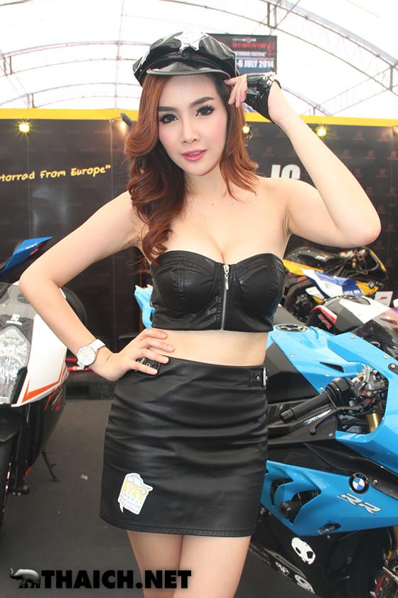 セクシーなタイ人コンパニオン達@バンコク・モーターバイク・フェスティバル2014
