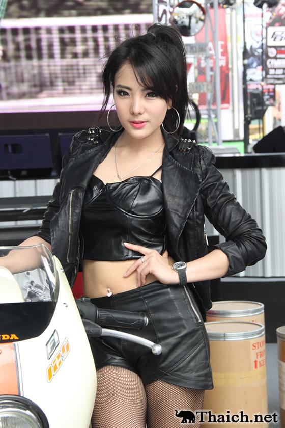 タイのイベントコンパニオンたち-バンコク・モーターバイク・フェスティバル 2013(1)