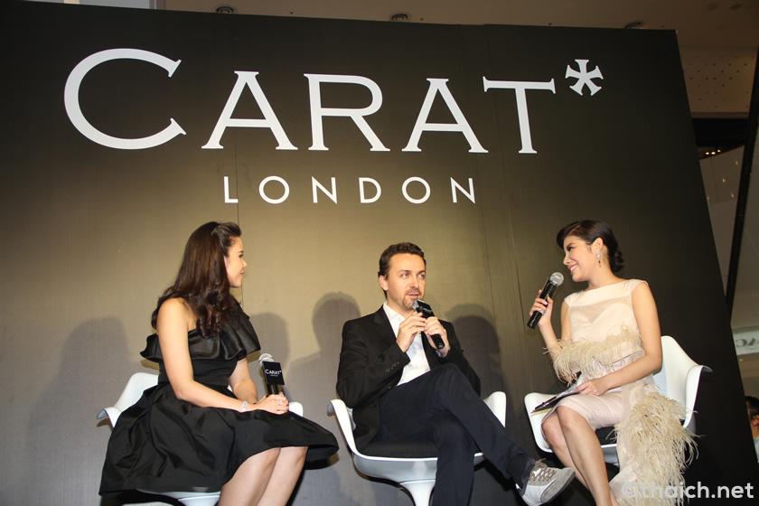 ジュエリーショップ「CARAT* LONDON」旗艦店がバンコク・GROOVE @CentralWorldにオープン