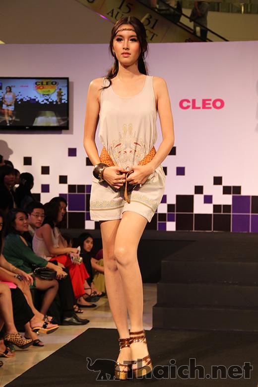 CC-OOファッションショー