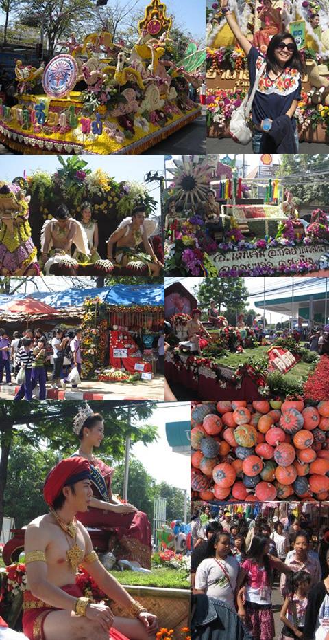 Chiang Mai Flower Festival 2010(チェンマイ花祭り)