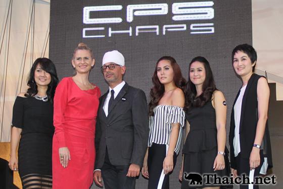 ジェニー・ティアンポースワンが「CPS CHAPS」2013年春夏のイメージキャラクターに
