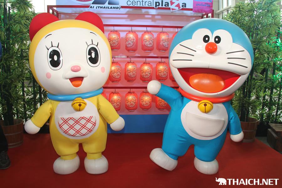 『ドラえもん日本祭り』が2014年1月9日からセントラルプラザ・ピンクラオでスタート