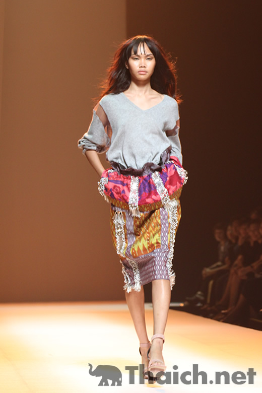 The Contemporarist by OCAC-ELLE Fashion Week 2011 Autumn/Winter at CentralWorld