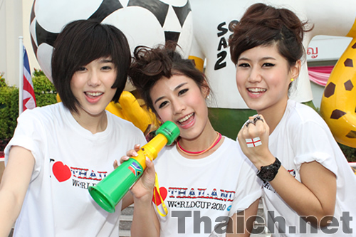 "Faye Fang Kaew(フェイファンケウ)  Grand Opening""FIFA World Cup On Ground 2010"""