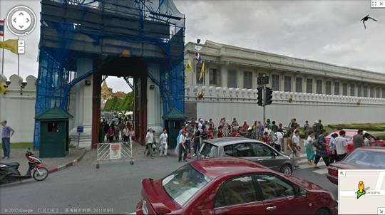 Googleストリートビューがタイで正式スタート