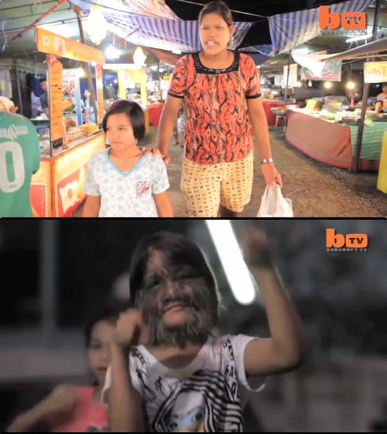 世界一背の高い少女と世界一毛深い少女がタイに居た!【TVウォッチング】
