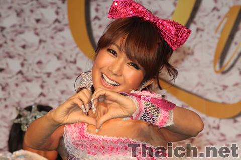 「美の王国タイ!はるな愛女子力を磨くスペシャルトーク&ライブ」が原宿La Donnaで開催