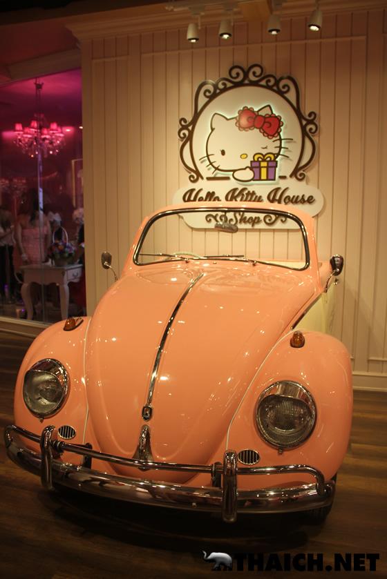 キティちゃんだらけのショップ・カフェ・スパの融合施設「ハローキティハウス」がバンコク・サイアムスクエアワンにオープン