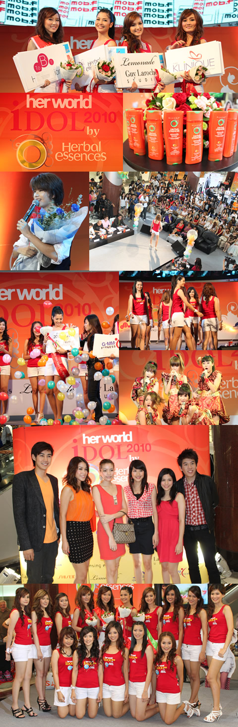 herworld idol 2010 by Herbal essences