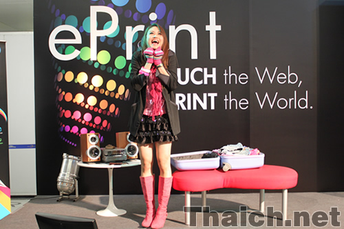 HP ePrint TOUCH the Web,PRINT the World.