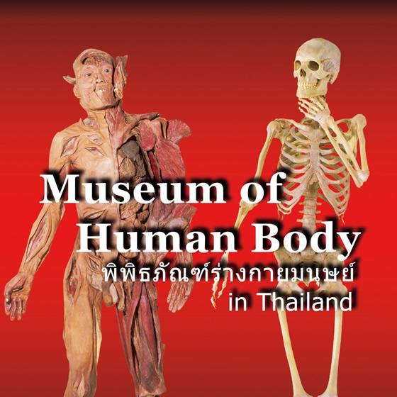 チュラロンコーン大学歯学部内で有料展示会「人体の不思議展」開催