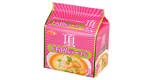 「サッポロ一番 頂 トムヤムラーメン 5個パック」が2015年5月に日本全国で発売