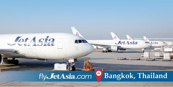 ジェットアジアエアウェイズのバンコク・スワンナプーム-成田定期便が2014年10月2日より就航開始