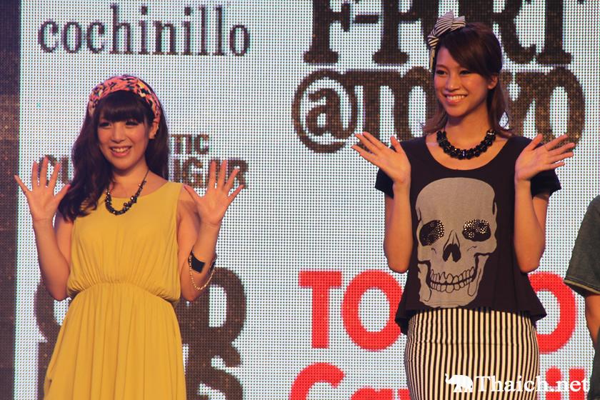 紺野ゆり、田井中茉莉亜出演のジャパニーズファッションショー@ジャパンフェスタ in バンコク 2013