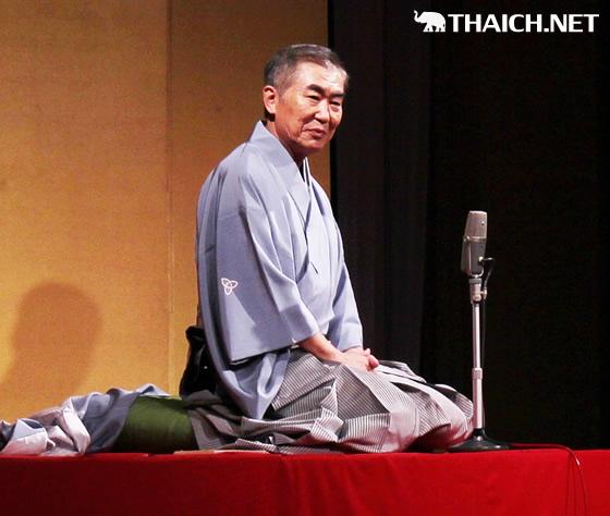 『三枝改メ 六代 桂文枝襲名公演 in バンコク』レポート~風邪を押して名人芸を披露