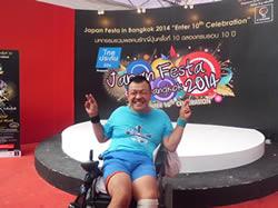 ある車椅子男性のタイ一人旅~田中れいな追っかけバンコク滞在記