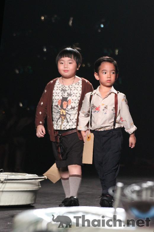 Garden Flynow III-Siam Paragon Kids International Fashion Week 2011
