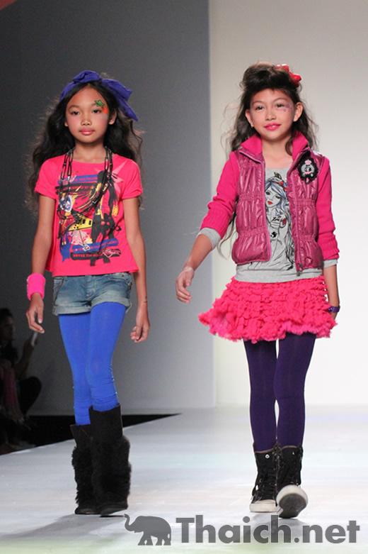 Kids' Planet-Siam Paragon Kids International Fashion Week 2011