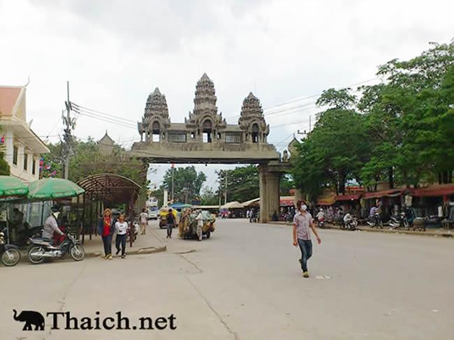 タイ-カンボジア国境でのビザ無しタイ入国が不可に