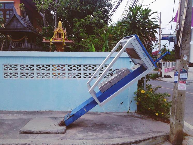 タイの公衆電話