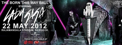 Lady GaGa Live in Bangkok 2012