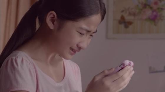 タイのLINEの感動CM 母親を亡くして悲しみにふける娘に父は・・・【TVウォッチング】