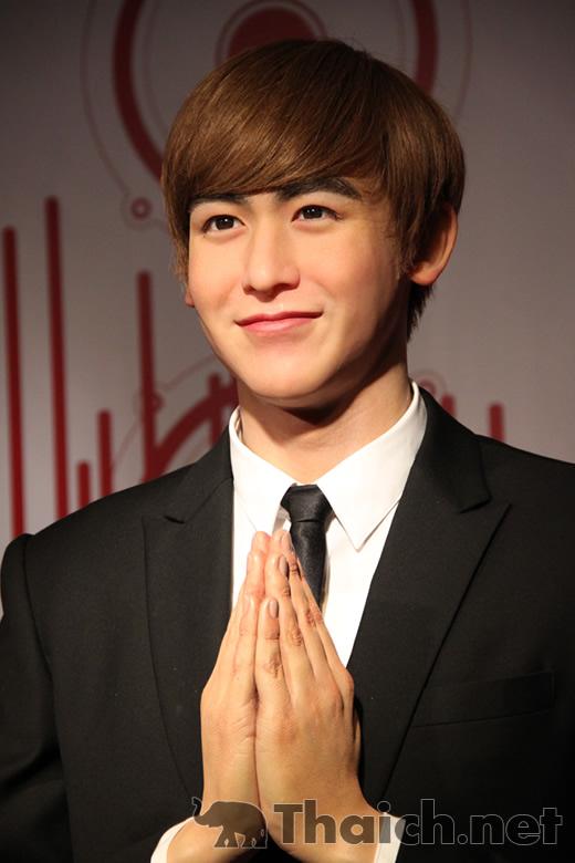 ニックン(2PM)蝋人形除幕式@マダムタッソー・バンコク
