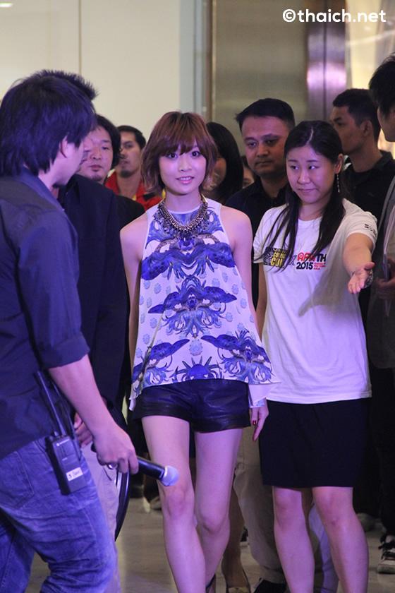 May'nが「Bangkok Comic Con × Anime Festival Asia Thailand 2015」開催発表記者会見に登場