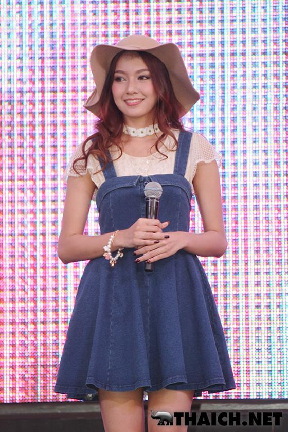 タイ人モデル ミウ・ランチダーが東京ランウェイ2014A/Wに出演