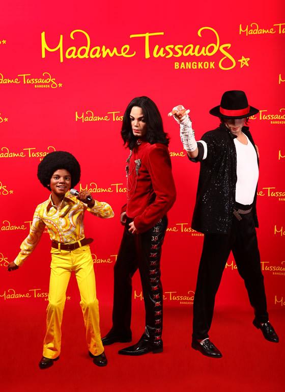 マイケル・ジャクソン新蝋人形がマダムタッソー・バンコクにお目見え