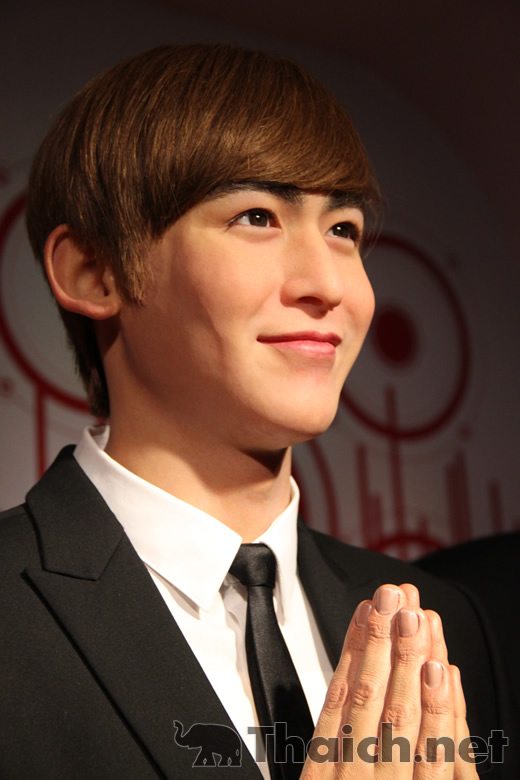 タイ人韓流アイドル・ニックン(2PM)の蝋人形がお目見え マダムタッソー・バンコクにて