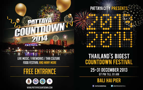PATTAYA COUNTDOWN 2014