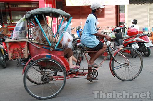 三輪自転車タクシー サムロー