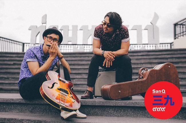 タイ人二人組 SanQ Bandがアルバム「Kyushu」を引っさげ九州全土をツアー