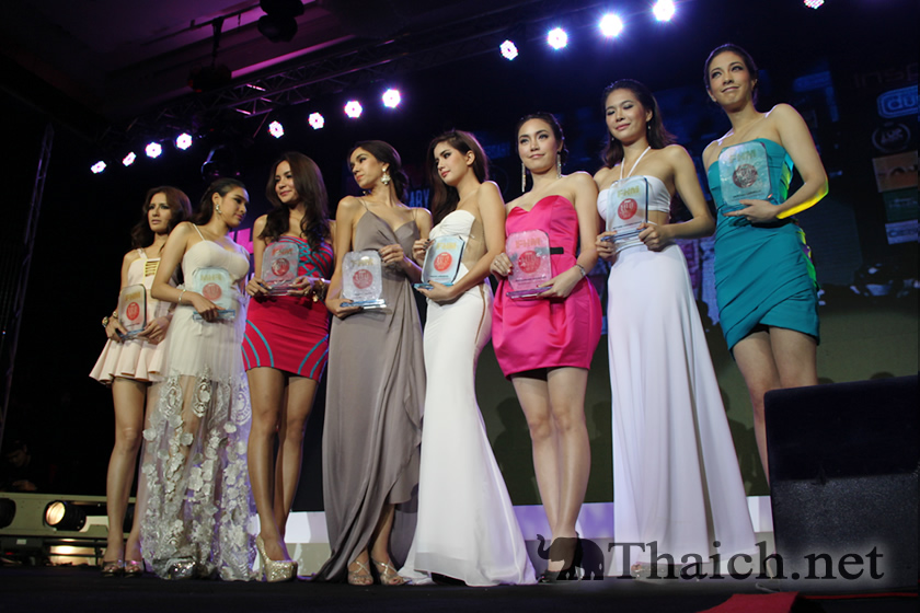 THE SEXIEST WOMAN IN THE THAILAND 2012(タイでもっともセクシーな女性2012)