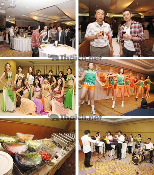 在住日本人らがタイ洪水支援のチャリティー新年会を開催