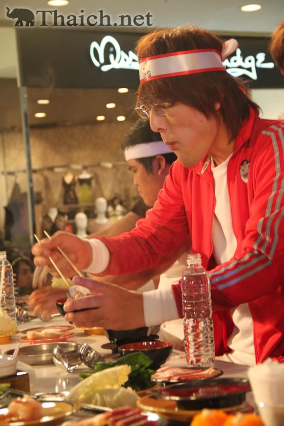 ジャイアント白田が大食いでシャブリンピック2012開催をアピール
