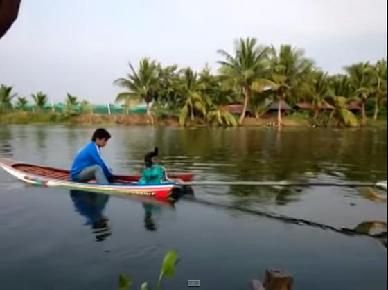 タイの手作り超高速ボートが凄い!【TVウォッチング】