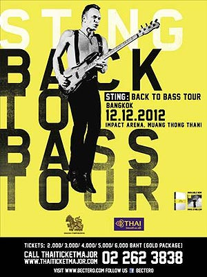 BACK TO BASS Live in Bangkok 2012