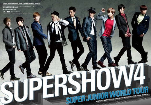 "SUPER JUNIOR WORLD TOUR ""SUPER SHOW4"" in BANGKOK"