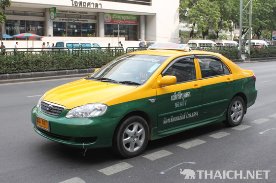 バンコクのタクシー料金が2014年12月より8%値上げへ!初乗り料金は据え置き