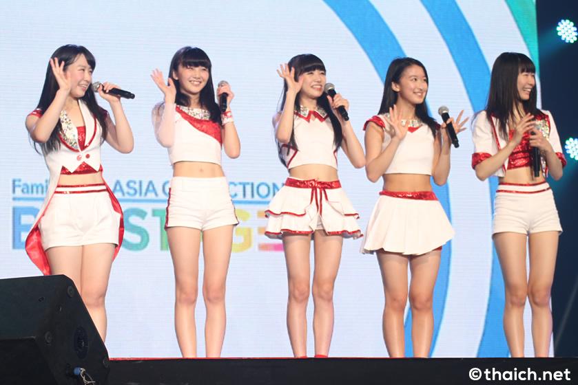 東京女子流オンステージ in バンコク [FamilyMart ASIA COLLECTION BIG STAGE]