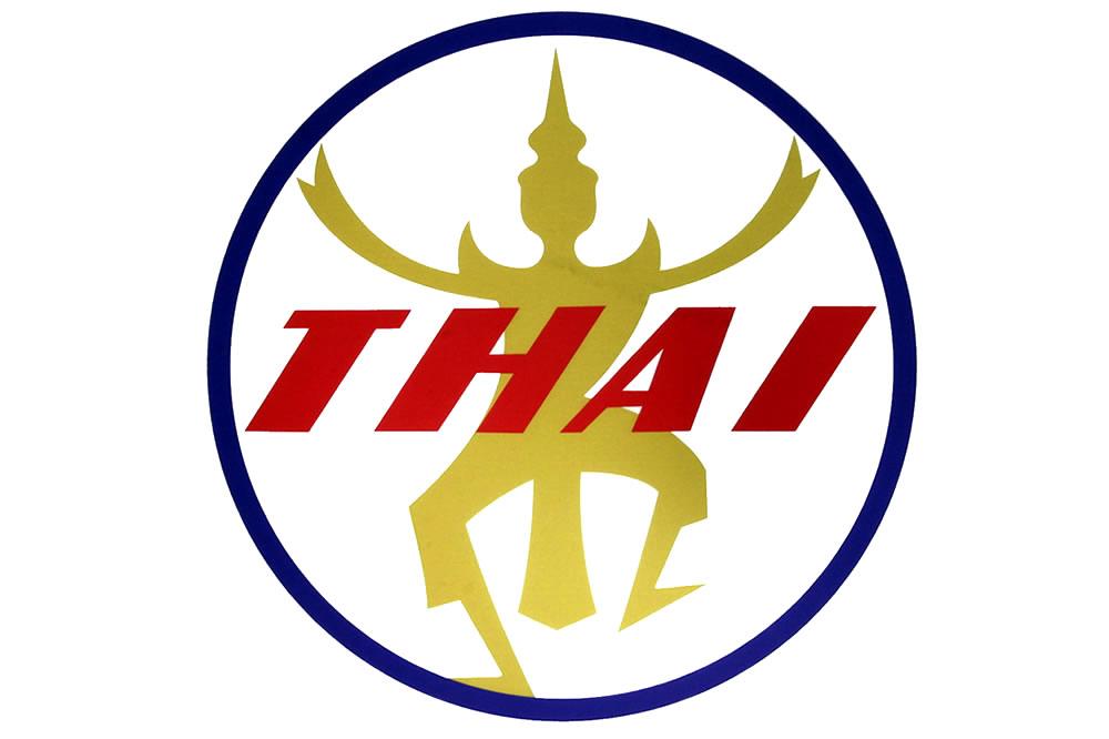 タイ国際航空ロゴマーク 1960年から1975年まで使用
