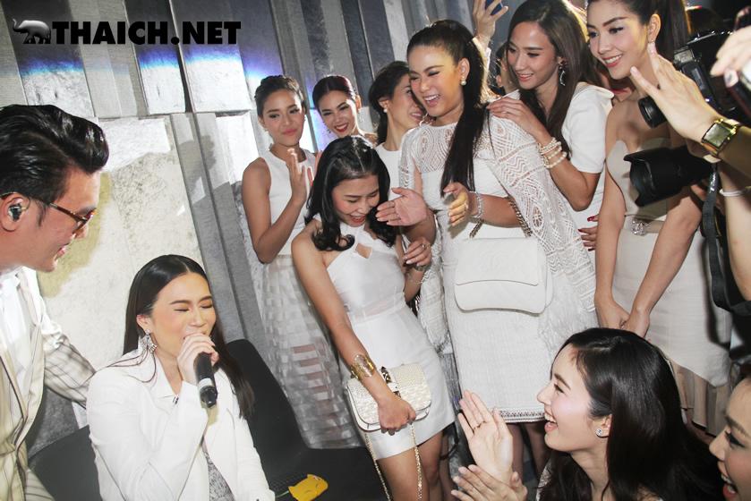 韓国コスメ「THEFACESHOP」がアム・パチャラパーらを招いて盛大にパーティーを開催