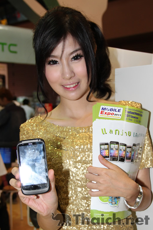 Thailand Mobile Expo 2011 Showcaseのコンパニオン達 後編