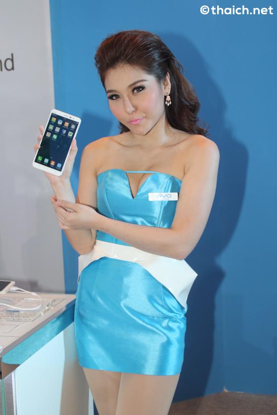 タイランドモバイルエキスポ2014を彩るタイ人コンパニオンたち