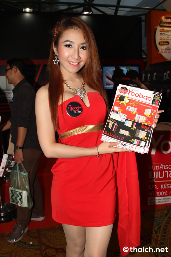 タイのかわいいプリティーガール特集!「タイランド・モバイル・エキスポ2015」