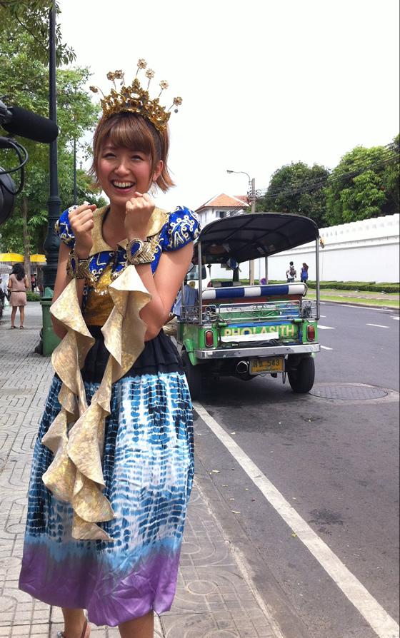 徳永千奈美タイ・バンコク訪問写真集