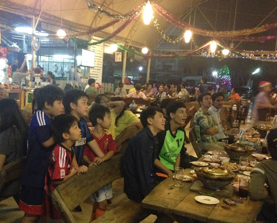 「夢追い人」のタイサッカー珍道中